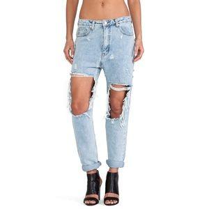 NWT UNIF Twerk Boyfriend Jeans